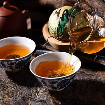 Yunnan-Old-Pu-erh-Teebaum-Puer-Tee-100g-022LB-Sheng-Pu-Erh-Tee-Kuchen-Roher-Pu-Erh-Tee-Kuchen-Grner-Tee-Chinesischer-Tee-Pu-er-Tee-Roher-Tee-sheng-cha-gesundes-Essen-Grnes-Essen-Alte-Bume-Pu-erh-Tee