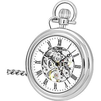 Stuhrling-Original-605333113-Unisex-Armbanduhr-Analog-Mechanik-Edelstahl