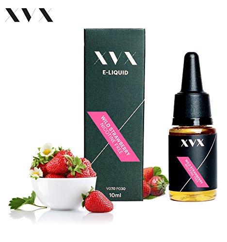 XVX E-Liquid  Wilderdbeere Geschmack  Elektronisches Liquid Für E-Zigarette  Elektronische Shisha Liquid  10ml Flasche  Nadelspitze  Präzise Befllung  Wähle Deinen Lifestyle  Neu Für 2016  Digitaler Rauch  Nikotinfrei  Tabakfrei