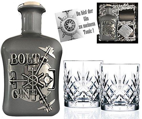 BOLT-Gin-Geschenk-limitiert-1250-Flaschen-aus-deutscher-Edelmanufaktur-Luxus-Dry-Gin-in-Silber-3D-Tresor-wilde-Bergamotte-und-Kardamom-Geschenkset-mit-2-Glsern-TOP-Qualitt