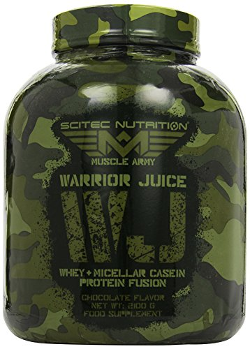 Scitec Nutrition Muscle Army Warrior Juice Schokolade, 1er Pack (1 x 2.1 kg)
