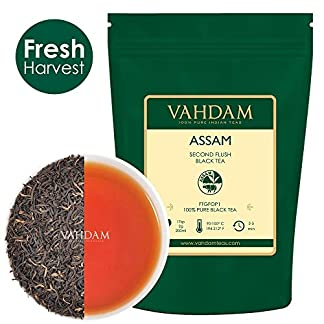 Assam-Black-Tea-Leaves-200-Tassen-STARK-MALTY-REICH-Loose-Leaf-Tee-100-Pure-Ungemischt-Single-Origin-Schwarztee-Loose-Leaf-Gebru-Heier-Tee-Eistee-Kombucha-Tee-FTGFOP1-Long-Leaf-Grade-454g