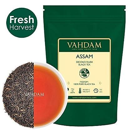 Assam-Black-Tea-Leaves-200-Tassen-STARK-MALTY-REICH-Loose-Leaf-Tee-100-Pure-Ungemischt-Single-Origin-Schwarztee-Loose-Leaf-Gebru-Heier-Tee-Eistee-Kombucha-Tee-FTGFOP1-Long-Leaf-Grade-454g