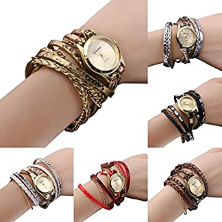 Domybest-Mode-Damen-Quarzuhr-Geflochtenes-Wickel-Wrap-Armband-Armbanduhr-Geschenk