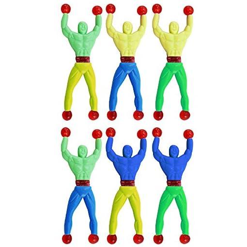COM-FOUR-20er-Set-Sticky-Ninja-Fensterkletterer-in-verschiedenen-Farben-9-cm