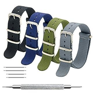 Uhrenarmband-Packung-mit-4-Nato-Strap-16mm-18mm-20mm-22mm-24mm-Ballistic-Nylon-Uhr-Armband-Zulu-Uhrband-mit-Edelstahl-Schnalle