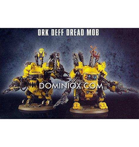 Warhammer-40000-Ork-Deff-Dread-Mob
