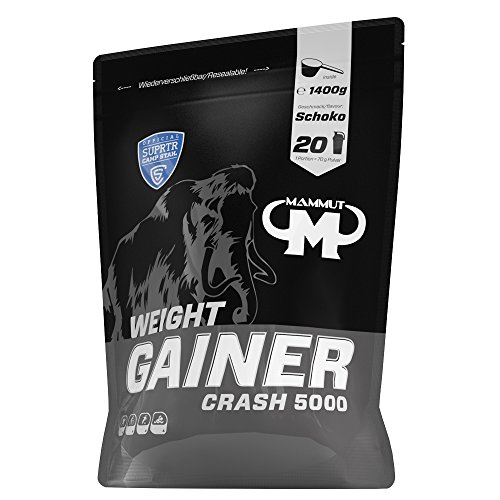 Mammut Weight Gainer Crash 5000 Schoko, 1400 g