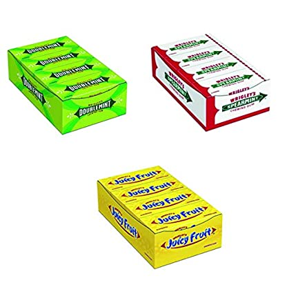 Kogu-Wrigleys-Set-Doublemint-8×15-Juicy-Fruit-8×15-und-Spearmint-8×15