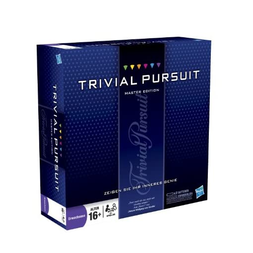 Hasbro-16762100-Trivial-Pursuit-Master-Edition