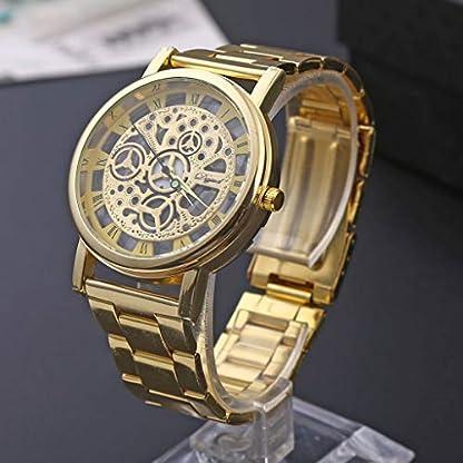 Luxusuhren-Quarz-Uhr-Edelstahl-Uhren-Automatik-Zifferblatt-Armbanduhr-Casual-Fitness-Tracker-Smartwatch-Leder-Armband-Militr-Uhr-Retro-Chronograph-Wecker-DIKHBJWQ-fr-Herren-Damen