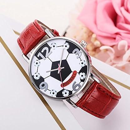 Domybest-Fuball-Quarz-analoge-lederne-Band-Uhr-Frauen-Mann-zufllige-Armbanduhr-Geschenke