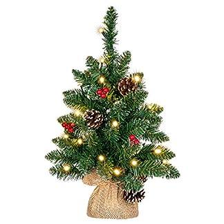 knstlicher-Weihnachtsbaum-grn-mit-Deko-Lichterkette-20-LED-warm-wei-Batterie-Timer-Christbaum-Tannenbaum-45-cm-Weihnachtsdeko-Xmas-Deko