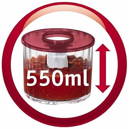 Moulinex-DP800G-Zerkleinerer-La-Moulinette-Plus-weiss-metallic-rot