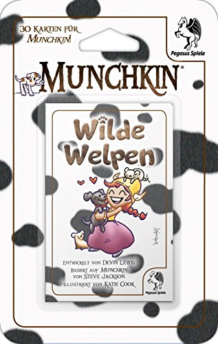 Pegasus-Spiele-17011G-Munchkin-Booster-Wilde-Welpen