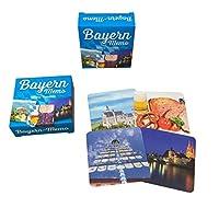 Bayerisches-Kartenmemo-Spiel-Bayern-Memo-30-Kartenpaare-zum-Aufdecken-Bayernmemo-Bayernspiel-Bavaria-Bavarian-Game