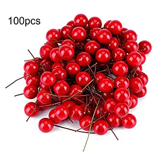 Yosoo-Knstliche-Rote-Kirschen-Weihnachten-Beere-Dekorationen-Holly-Berry-Hngende-Ornamente-Urlaub-Festival-Knstliche-Frchte-Decor-DIY-Feiertag