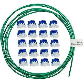 LoHaG-20-Kabelverbinder-in-praktischer-Box-5m-Begrenzungskabel-Reparaturset-Ideal-fr-Rasenmher-Mhroboter-Rasenroboter-Kabel-Verbinder-Kabelklemmen-Anschlussklemmen-wasserdicht