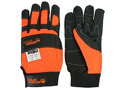 Schnittschutz-Sgenspezi-Handschuhe-Gre-L-10-Forsthandschuh-fr-Motorsge-Kettensge