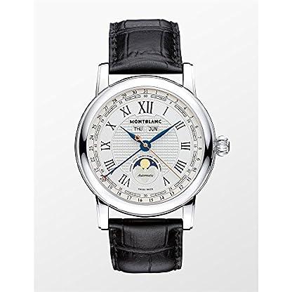 Montblanc-Star-Herren-Armbanduhr-42mm-Armband-Aligatorleder-Automatik-113645