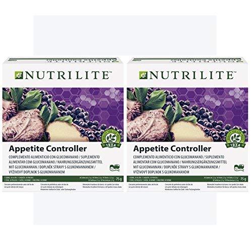 2 x Appetite Controller by NUTRILITE – 2 x 30 Beutel à 2,5 g (150 g) – Nahrungsergänzungsmittel – Appetite Reducer – Amway – (Art.-Nr.: 119792)
