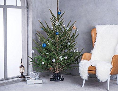 Hiskl-Weihnachtsbaumstnder-Christbaumstnder-Used-Look-Antik-Klassik-aus-Metall–285cm-Variation