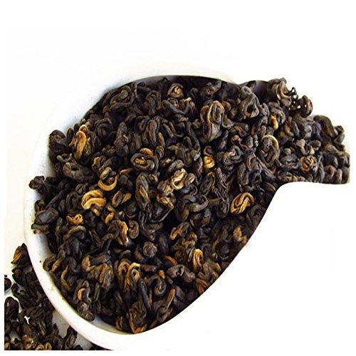 Promotion-Sale-Free-Shipping-Yunnan-Black-Tea-curled-1-bud-1-leaf-200-044lb-grams-Dian-Hong-Red-tea-Green-food-Dianhong-tea