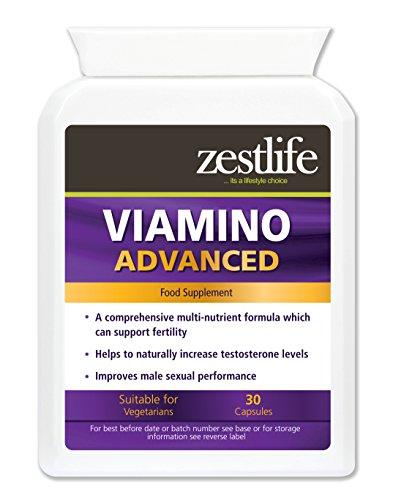 Viamino 30 Kapseln Nahrungsergänzungsmittel für Männer.