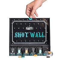 Shot-Wall-Partyspiel-mit-6-Shotglsern-Shot-Wall-Saufspiel-Partyspiel-Party