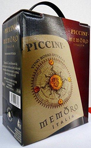 PICCINI-MEMORO-ROSSO-ITALIEN-Bag-in-Box-3L-Incl-Goodie-von-Flensburger-Handel