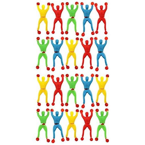 COM-FOUR-20x-Sticky-Ninja-Fensterkletterer-in-verschiedenen-Farben-9-cm