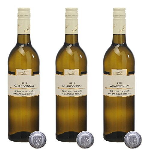Grosch-Chardonnay-Sptlese-im-Barrique-gereift-2016-Trocken-3-x-075-l