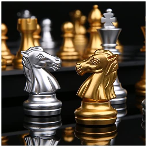 Schachspiel-Magnetisch-Faltbar-Schachbrett-Reise-Speil-fr-ab-6-Kinder