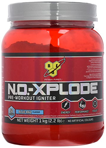 BSN No Xplode 3.0 – Blue Raspberry, 1er Pack (1 x 1 kg)