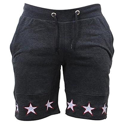 Ansenesna-Shorts-Herren-Sommer-Kurz-Stretch-Freizeithose-mit-Gummibund-Mnner-Fleece-Strand-Outdoor-Jogging-Gummizug-Hose