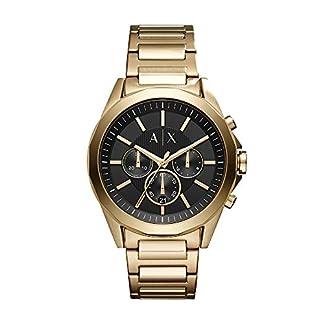 Armani-Exchange-Herren-Chronograph-Quarz-Uhr-mit-Edelstahl-Armband-AX2611