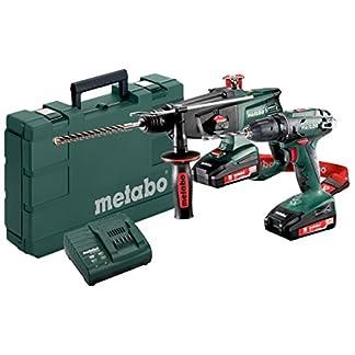 Metabo-685083000-23-Combo-Set-18-Volt-BS-KHA-18-LTX-2-Li-Power-Akkupacks-18-V20-Ah-grngrauschwarzrot