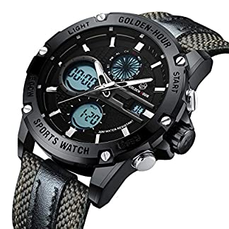 Herrenuhr-Klassisch-Multifunktion-Analog-Sport-Wasserdicht-Quarz-Uhren-fr-Mnner-Fashion-Militr-Casual-Armbanduhr