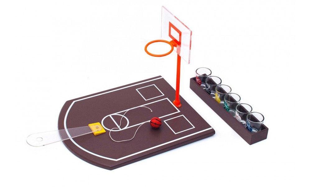 Partyspiel-Basketball-Trinkspiel-Saufspiel-mit-6-Schnapsglsern