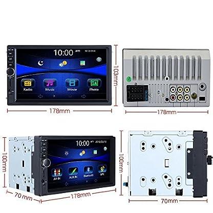 podofo-Doppel-DIN-Auto-stereo7-HD-Player-MP5-Touchscreen-in-Dash-Digital-Display-Bluetooth-USB-SD-Multimedia-Kfz-Radio-Autoradio-2Din-mit-Backup-Kamera