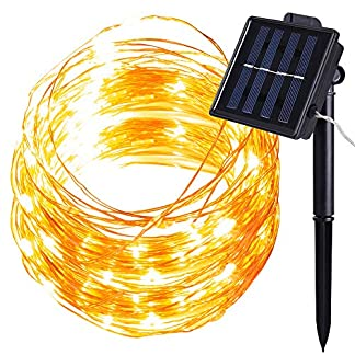 100-LED-Solar-Lichterkette-MMTX-Party-Dekorative-Aussen-Lichterketten-aun-Warmwei-8-Modi-32ft-10M-Gartenleuchte-Weihnachtsbeleuchtung-fr-Weihnachten-Halloween-Hochzeit-Party-Dekoration
