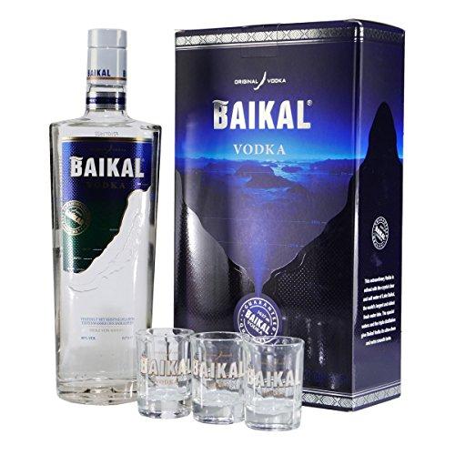 Baikal-Vodka-Geschenkpackung