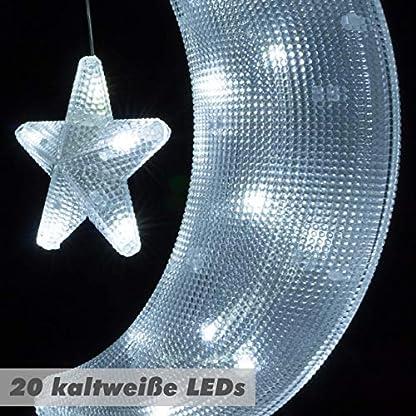 Nipach-GmbH-Fensterbild-Mond-mit-Stern-mit-Saugnapf-beleuchtet-20-LED-Leuchtfarbe-wei-Mondsichel-Weihnachtsdeko-Weihnachtsbeleuchtung-Batterie-Xmas