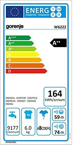 Gorenje-W6222-Waschmaschine-Frontlader-A-6-kg-Energiesparmodus-automatische-Stand-by-Abschaltung