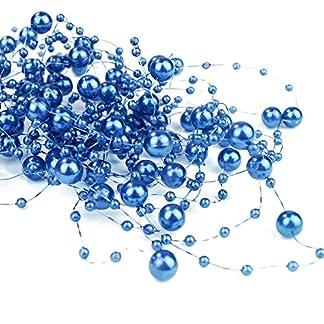 65-m-Perlengirlanden-Marineblau-Perlengirlande-Dekoschnur-Perlenkette