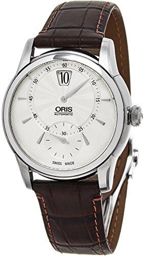 ORIS-ARTELIER-Herren-Armbanduhr-40MM-BRAUN-AUTOMATIK-91777024051LS