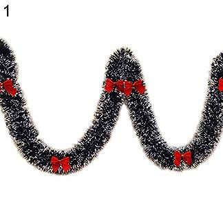 yimosecoxiang-Weihnachts-Girlande-mit-grnen-Kunststoffschleifen-Weihnachtsdekoration-6