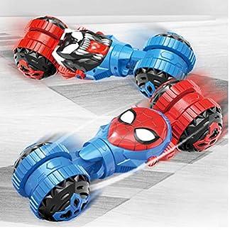 MODYL-Spiderman-Kinderfernbedienung-Auto-stolznde-Stuntwagen-Spielzeug-Auto-Laden-Fernbedienung-Auto-MllwagenSpiderman