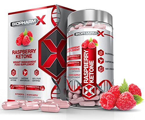 Biopharm-X Raspberry Ketone Diet Pills : Strongest Legal Fat Burner/Slimming & Weight Loss Supplement (1 Month Supply) Satisfaction Guaranteed