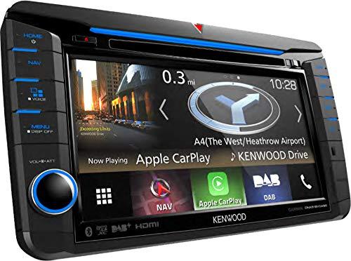 Kenwood-DNX518VDABS-Navigationssystem-Kontinent